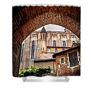 Cathedral Of Ste-cecile In Albi France Shower Curtain