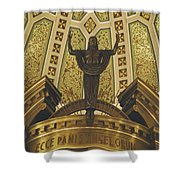 Cathedral Of The Immaculate Conception Detail - Mobile Alabama Shower Curtain