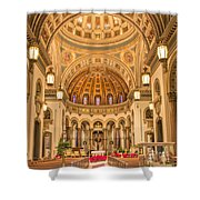 Cathedral Of The Sacred Heart 2 Shower Curtain