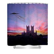 Cathedral Pass  Shower Curtain