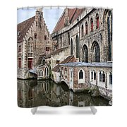 Cathedral Reflection Shower Curtain
