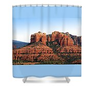 Cathedral Rock 2 Shower Curtain by Ellen Henneke