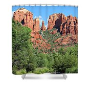 Cathedral Rock Sedona Shower Curtain