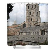 Cathedral Saint Trophime - Arles Shower Curtain