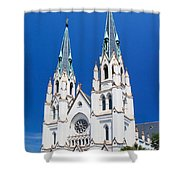 Cathedral, Savannah, Georgia Shower Curtain