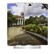 Cathedral Square And Church Shower Curtain