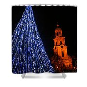 Cathedral Square  Shower Curtain
