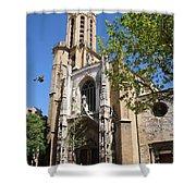 Cathedral St Sauveur - Aix En Provence Shower Curtain