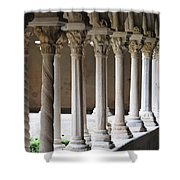 Cathedral St Sauveur - Croos-coat Shower Curtain
