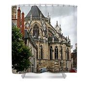 Cathedrale Saint - Cyr - Et - Sainte - Julitte De Nevers Shower Curtain