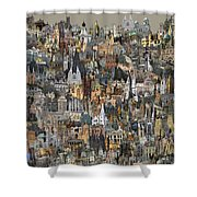 Cathedri Shower Curtain