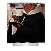Catholic Priest Shower Curtain