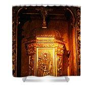 Catholic Tabernacle  Shower Curtain