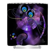 Cats 006-13 - Marucii Shower Curtain