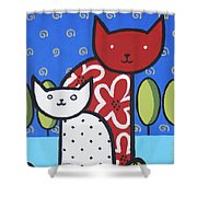 Cats 1 Shower Curtain