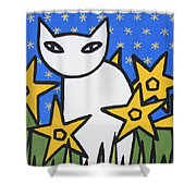Cats 2 Shower Curtain