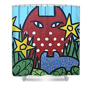 Cats 3 Shower Curtain