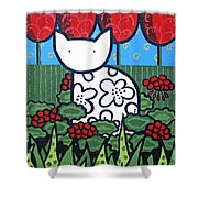Cats 4 Shower Curtain