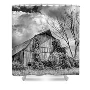 Cattaraugus County Barn 6160b Shower Curtain