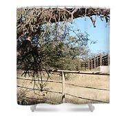 Cattle Ramp Shower Curtain