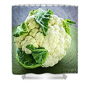 Cauliflower Shower Curtain