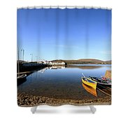 Causeway To Achill Shower Curtain