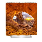 Cave Arch Shower Curtain
