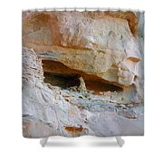 Cave Dwelling Where Pictograms Were Found Shower Curtain