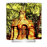 Cave Hill Haunting Shower Curtain