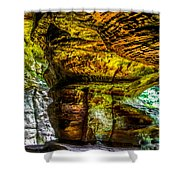 Cave Land Shower Curtain
