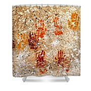 Cave Of A Thousand Hands Shower Curtain