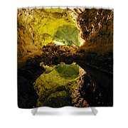Cave On Lanzarote Shower Curtain