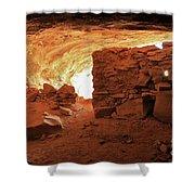 Cave Ruin 2 Shower Curtain