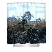 Cavehill In The Snow 2 Shower Curtain