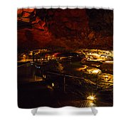 Cavern River Shower Curtain