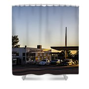 Caverns Pit Stop Shower Curtain