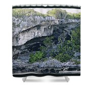 Caves In The Bahamas Shower Curtain