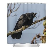 Caw Shower Curtain