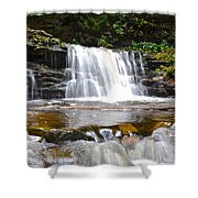 Cayuga Falls Shower Curtain