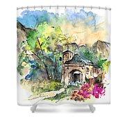 Cazorla 07 Shower Curtain