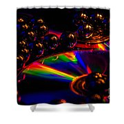 Cd Art 3 Shower Curtain