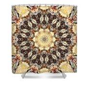 Cecropia Sun 3 Shower Curtain