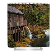 Cedar Creek Grist Mill Shower Curtain