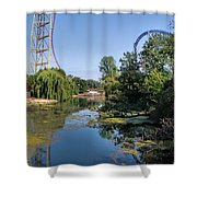 Cedar Point Ohio Shower Curtain