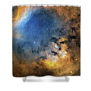 Cederblad 214 Emission Nebula Shower Curtain