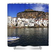 Cefalu - Sicily Shower Curtain