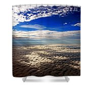 Ceiling High 3 Shower Curtain