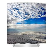 Ceiling High 4 Shower Curtain