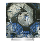 Ceiling Sails Shower Curtain