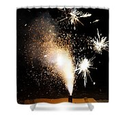 Celebrate A New Year Shower Curtain